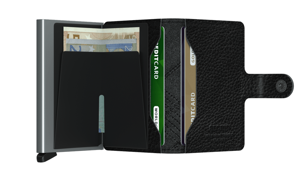 Load image into Gallery viewer, Secrid Miniwallet Stitch Linea Black