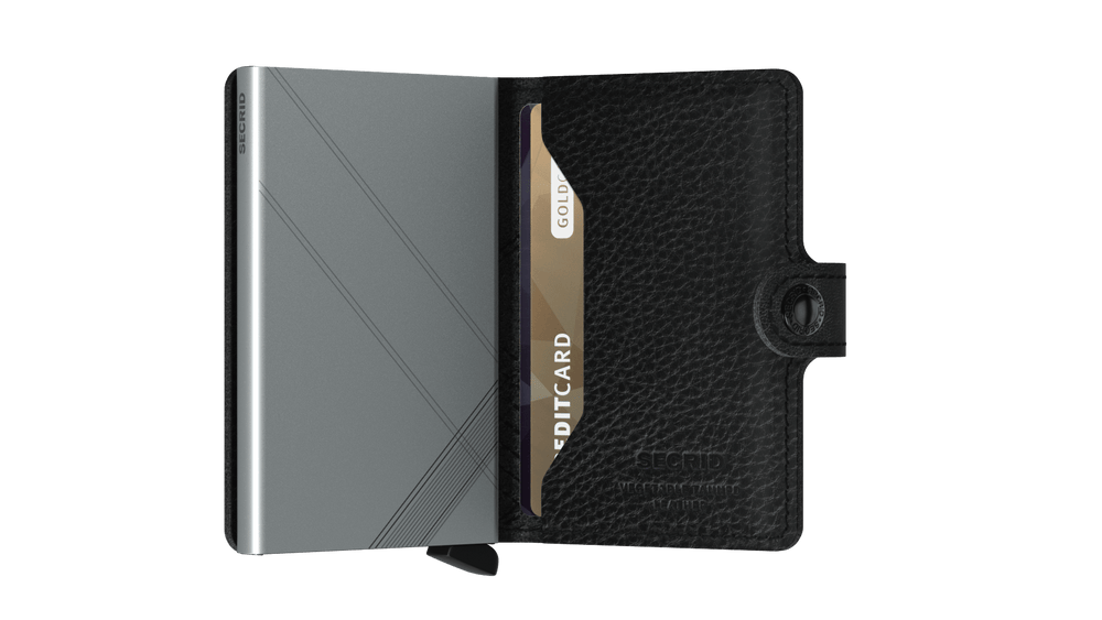 Secrid Miniwallet Stitch Linea Black