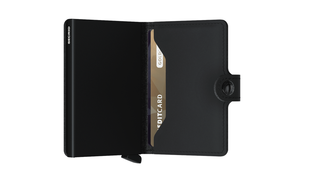 Secrid Miniwallet Vegan Soft Touch Black