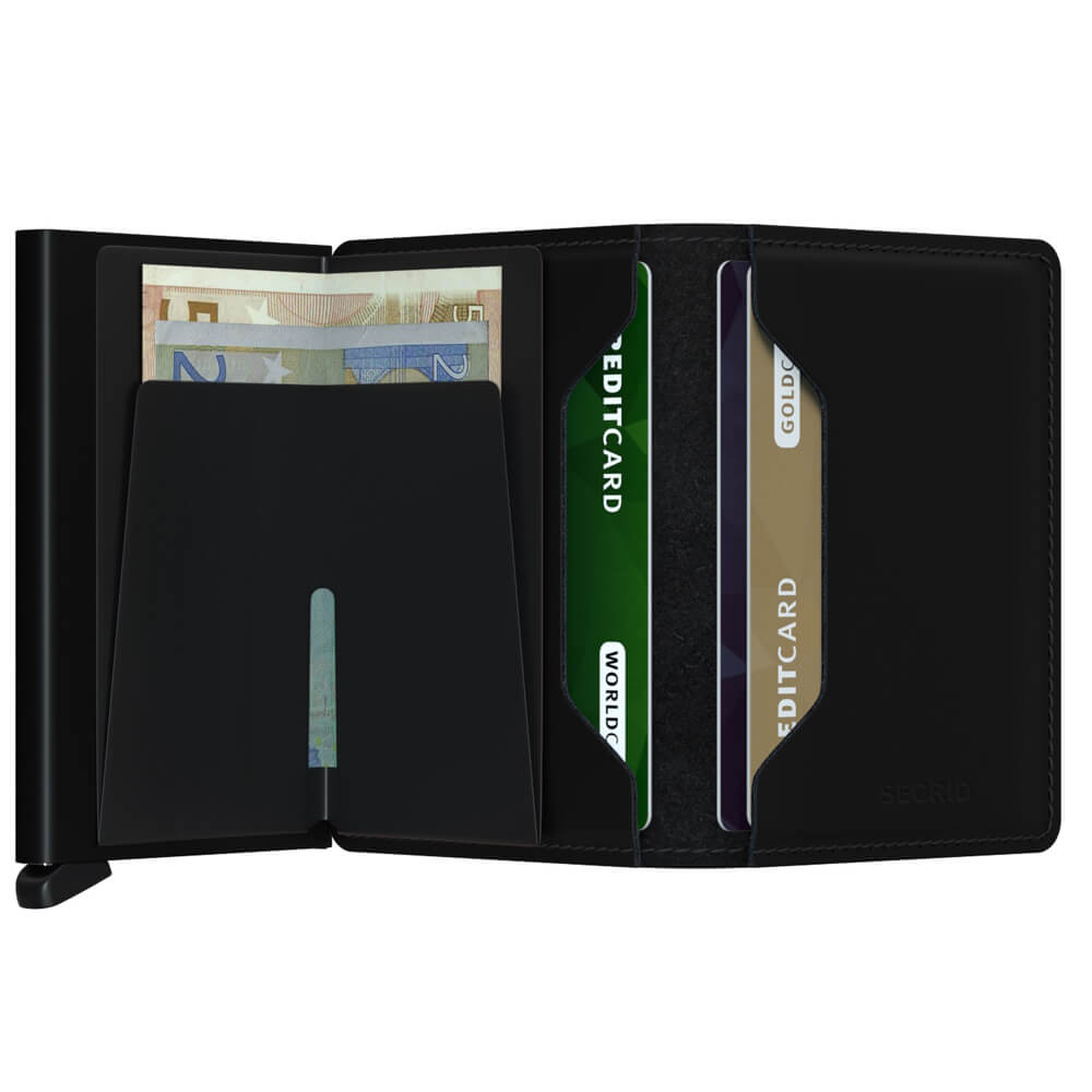 Load image into Gallery viewer, Secrid Slimwallet Matte Black