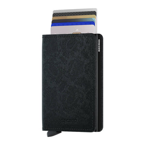 Load image into Gallery viewer, Secrid Slimwallet Paisley Black