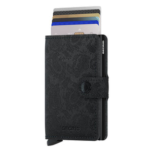 Load image into Gallery viewer, Secrid Miniwallet Paisley Black