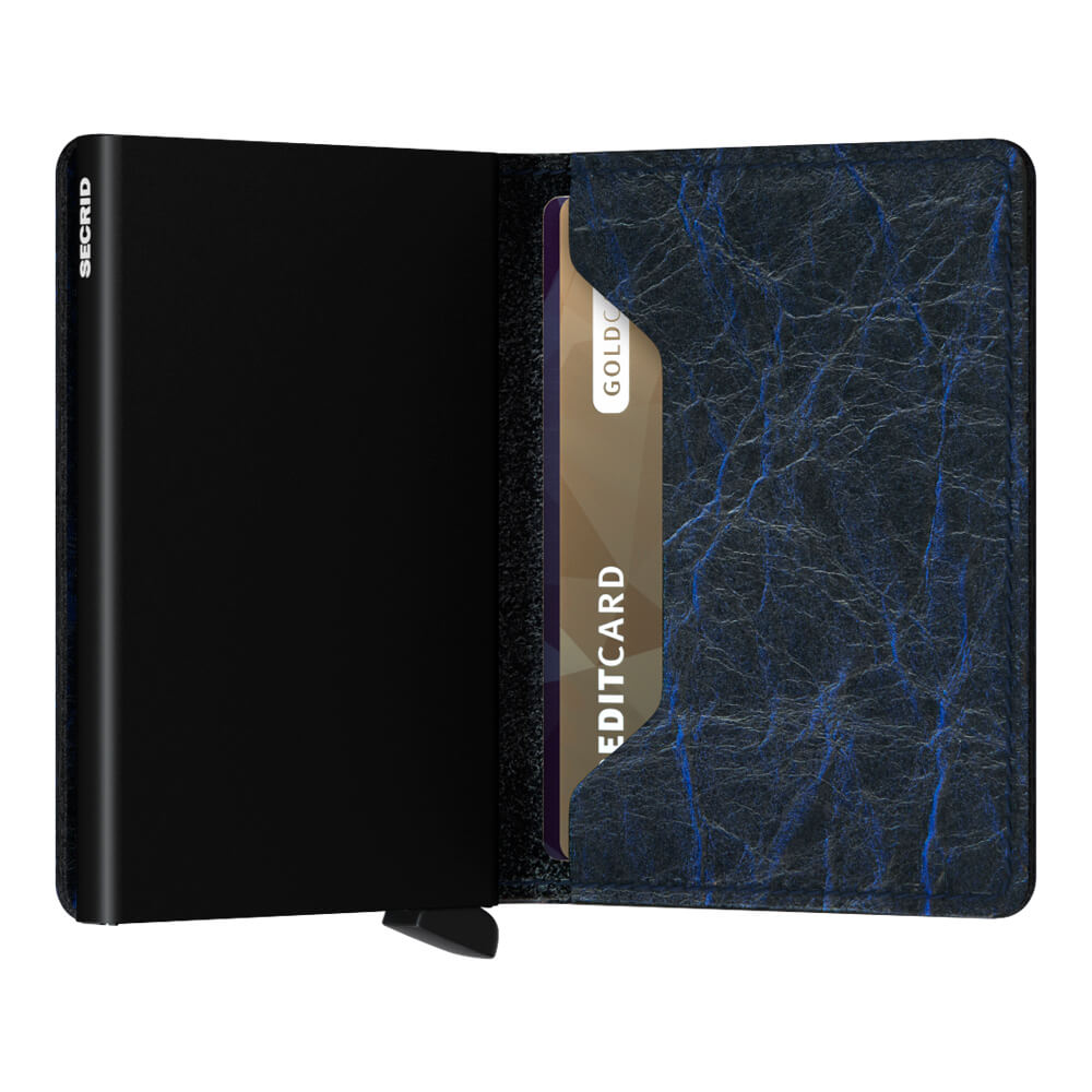 Secrid Slimwallet Matte Crunch Blue