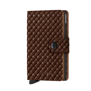 Load image into Gallery viewer, Secrid Miniwallet Basket Brown