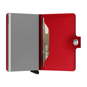 Secrid Miniwallet Crisple Red