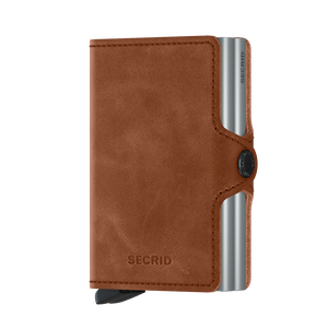 Load image into Gallery viewer, Secrid Twinwallet Cognac-Silver