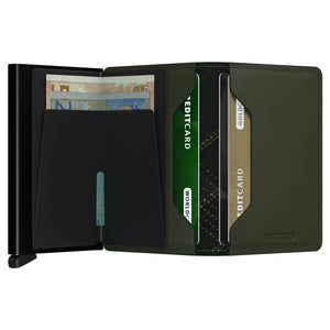 Load image into Gallery viewer, Secrid Slimwallet Stitch Linea Lime