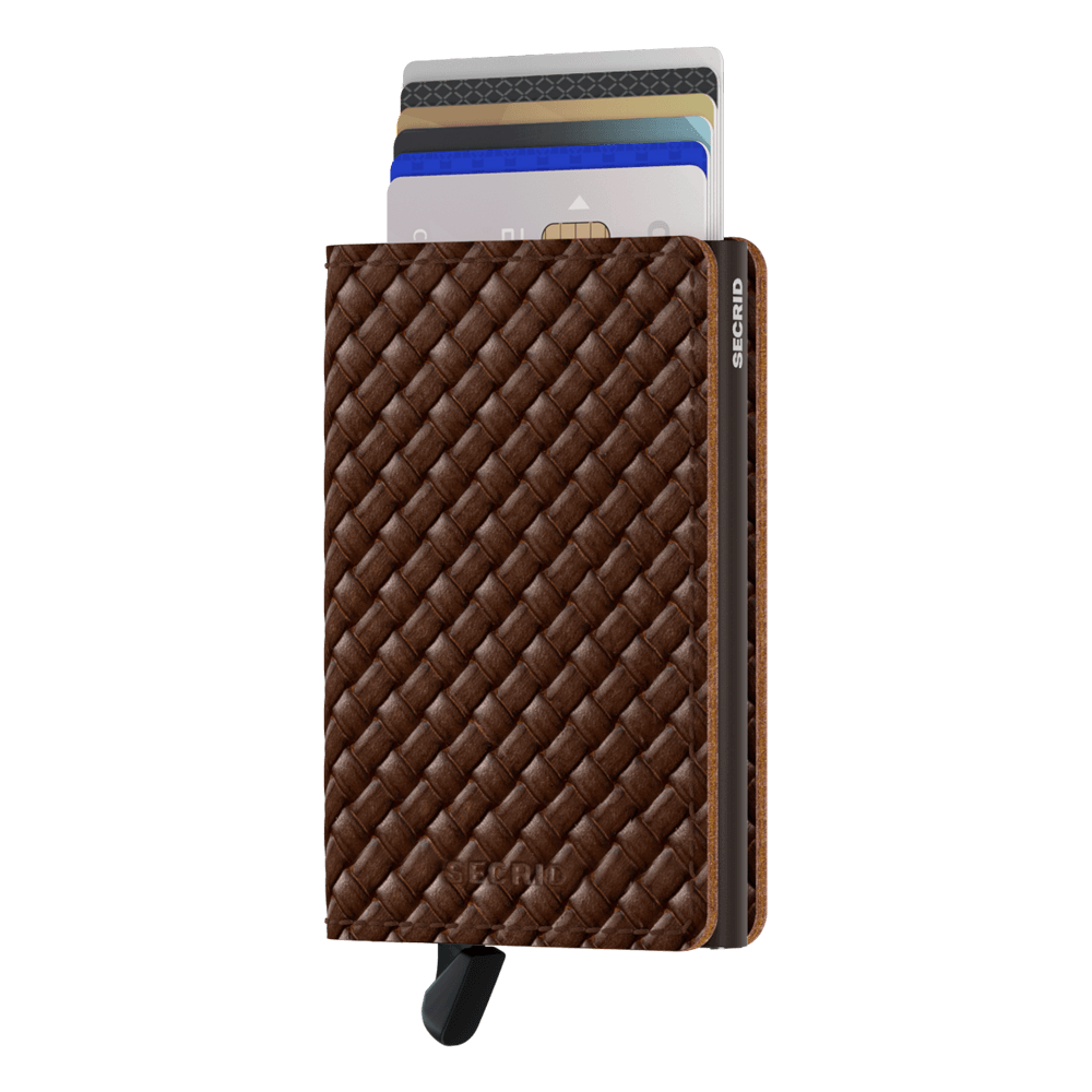 Secrid Slimwallet Basket Brown