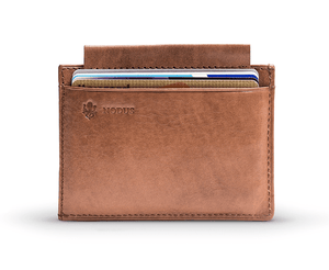 Nodus Compact Wallet Brown