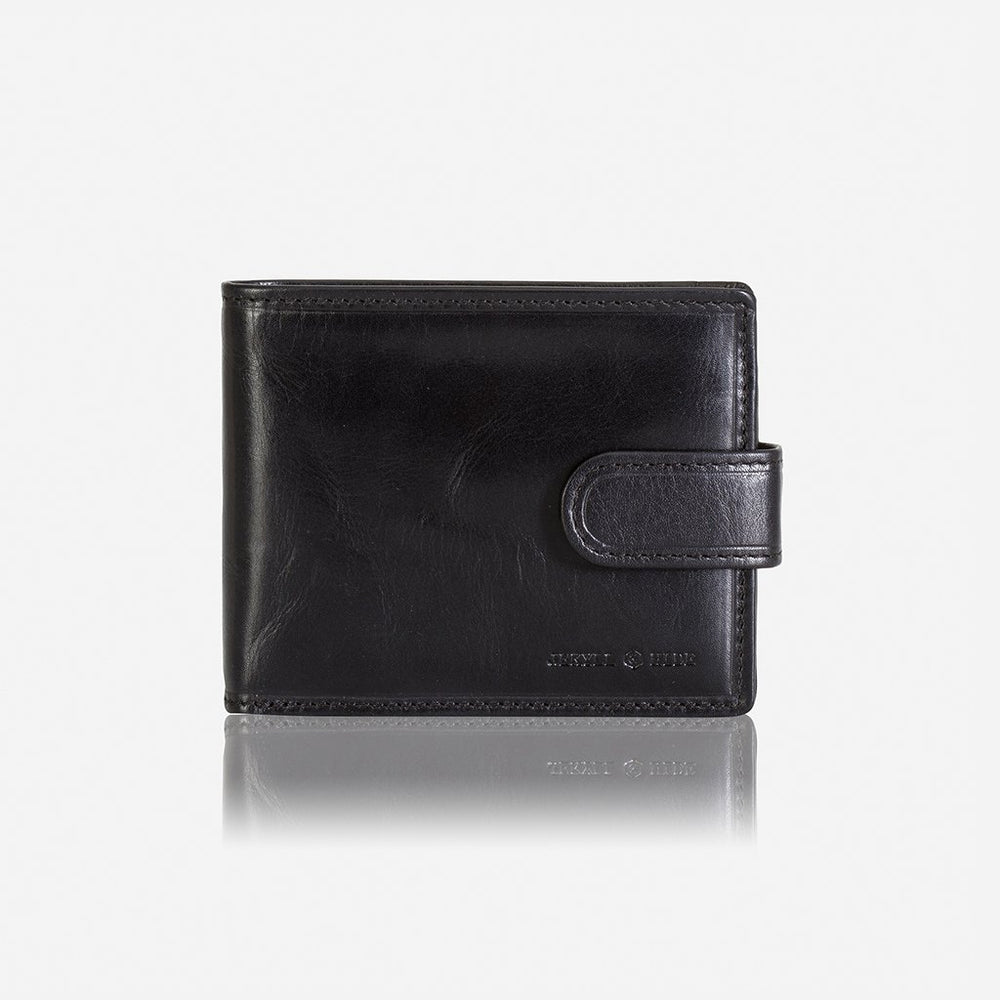 Jekyll & Hide Billfold Wallet With Coin And Tab Closure