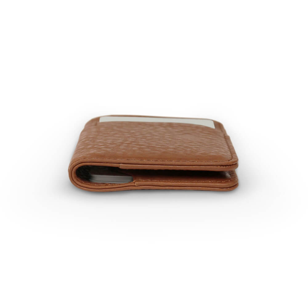 Nodus Hifold Card Wallet Chestnut Brown