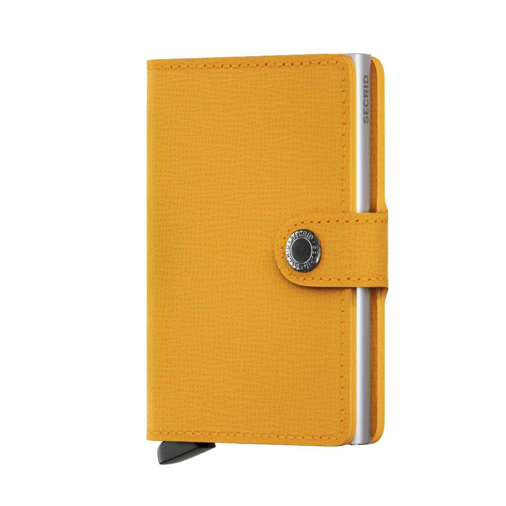 Secrid Miniwallet Crisple Yellow