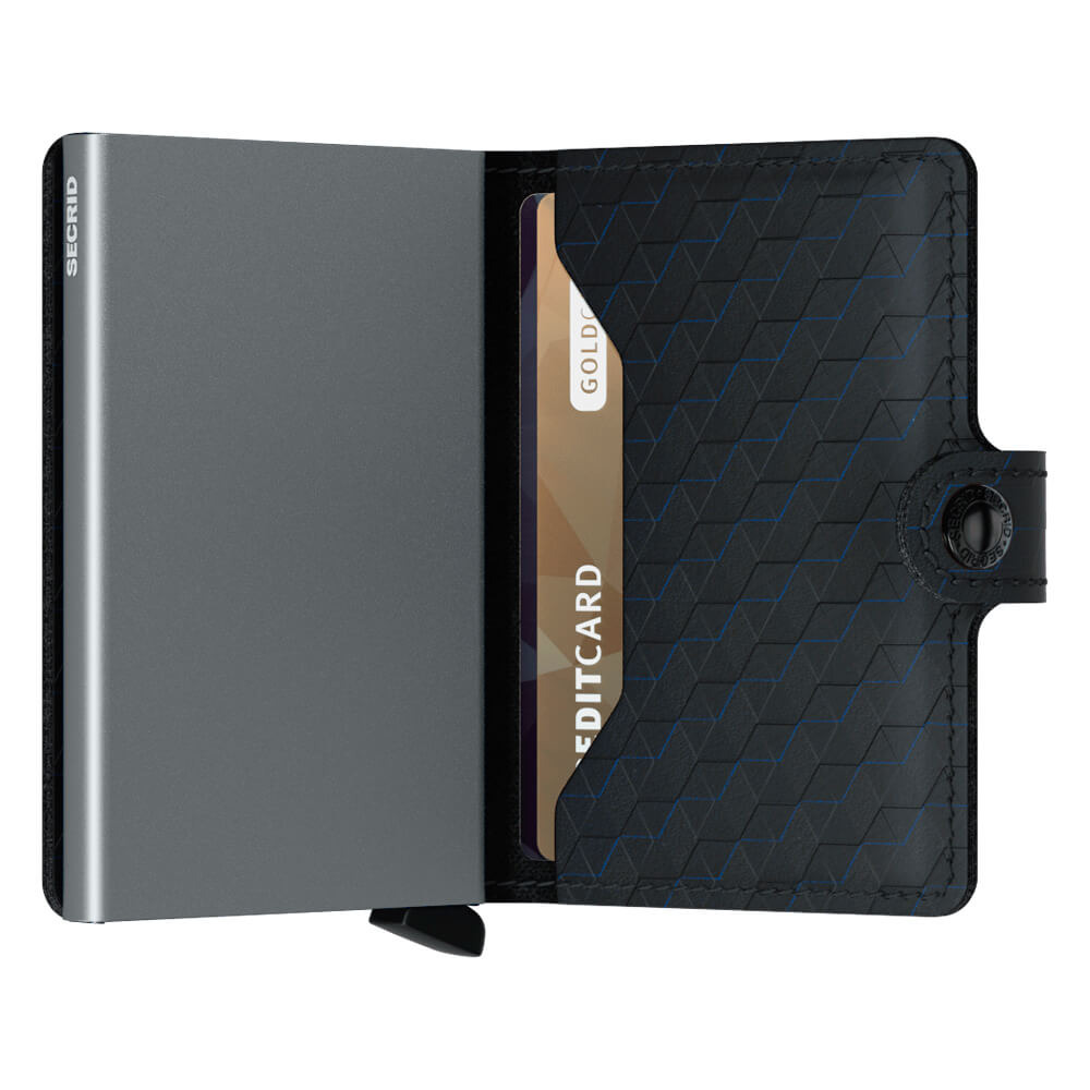 Secrid Miniwallet Optical Titanium