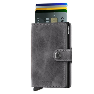 Load image into Gallery viewer, Secrid Miniwallet Vintage Grey-Black