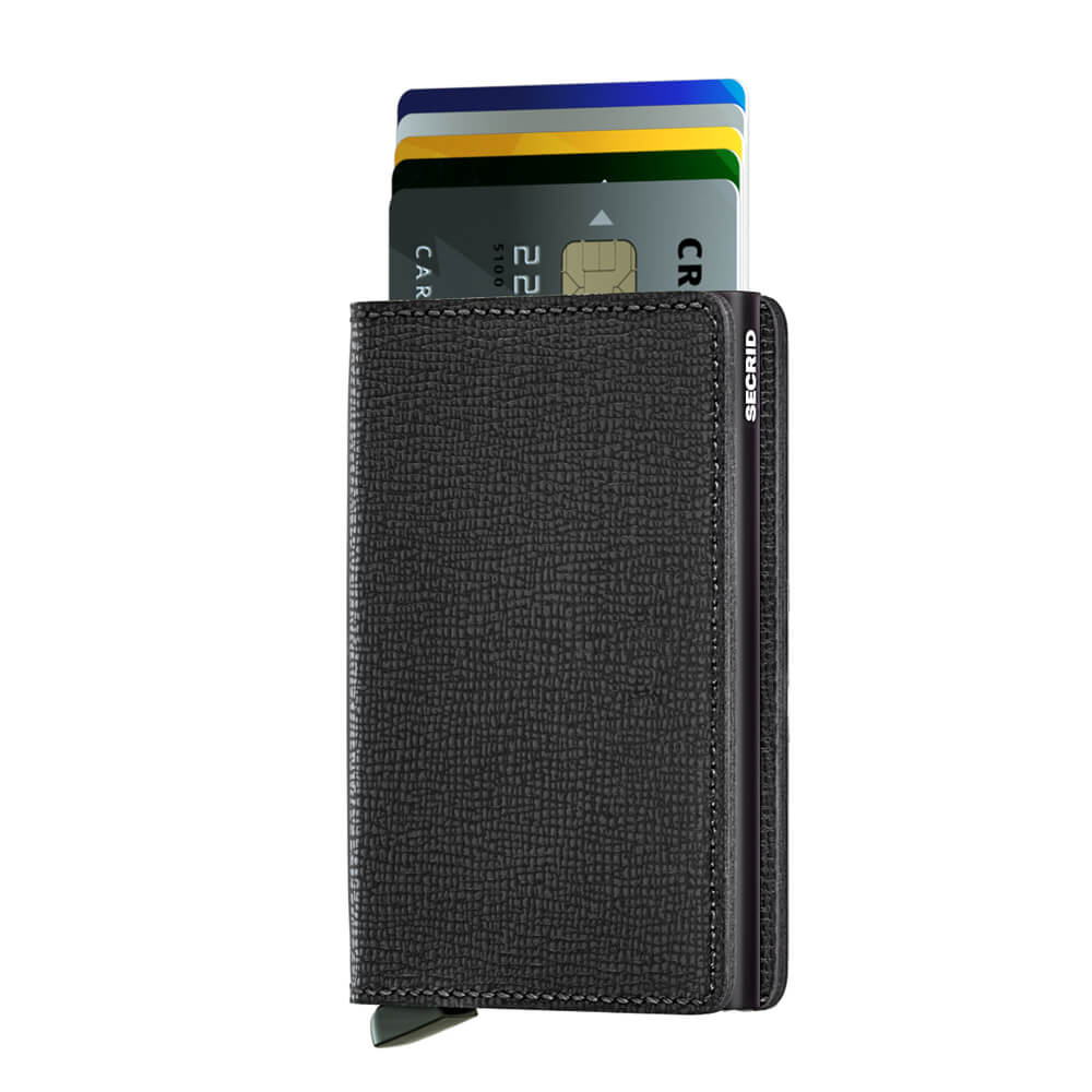 Load image into Gallery viewer, Secrid Slimwallet Crisple Black