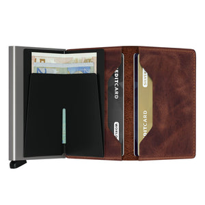Load image into Gallery viewer, Secrid Slimwallet Vintage Brown
