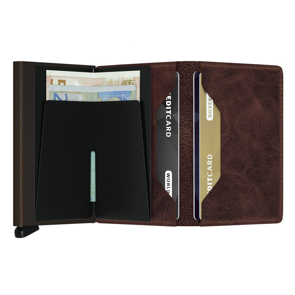 Load image into Gallery viewer, Secrid Slimwallet Vintage Chocolate