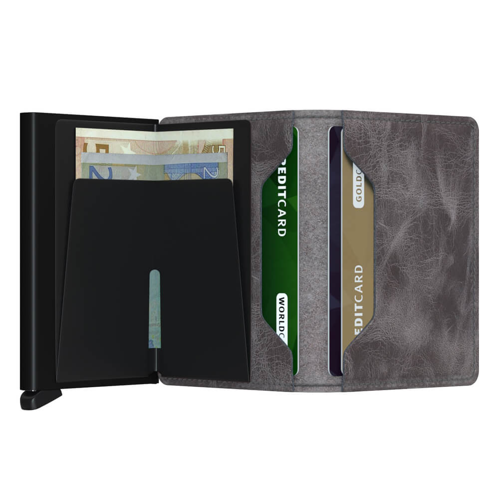 Load image into Gallery viewer, Secrid Slimwallet Vintage Grey-Black