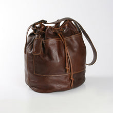 Load image into Gallery viewer, Bucket Handbag Leather