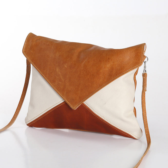 Envelope Handbag Leather