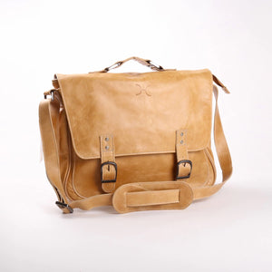 Work Satchel Leather