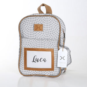 Kids Backpack Laminated Fabric