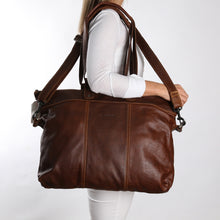Load image into Gallery viewer, Ladies Cabin Luggage Bag Leather