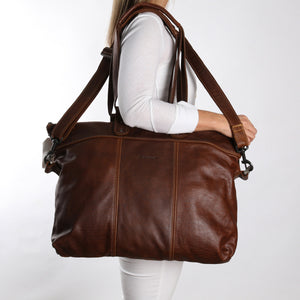 Ladies Cabin Luggage Bag Leather