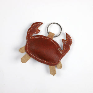 Animal Leather Key Rings