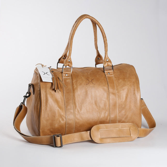 Medium Traveller Bag Leather