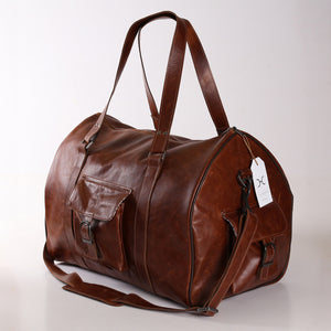Mens Cabin Luggage Bag Leather