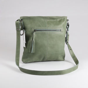 Messenger Handbag Leather