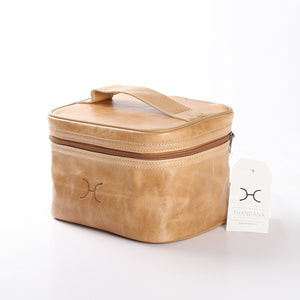 Mini Decker Cooler Bag Leather