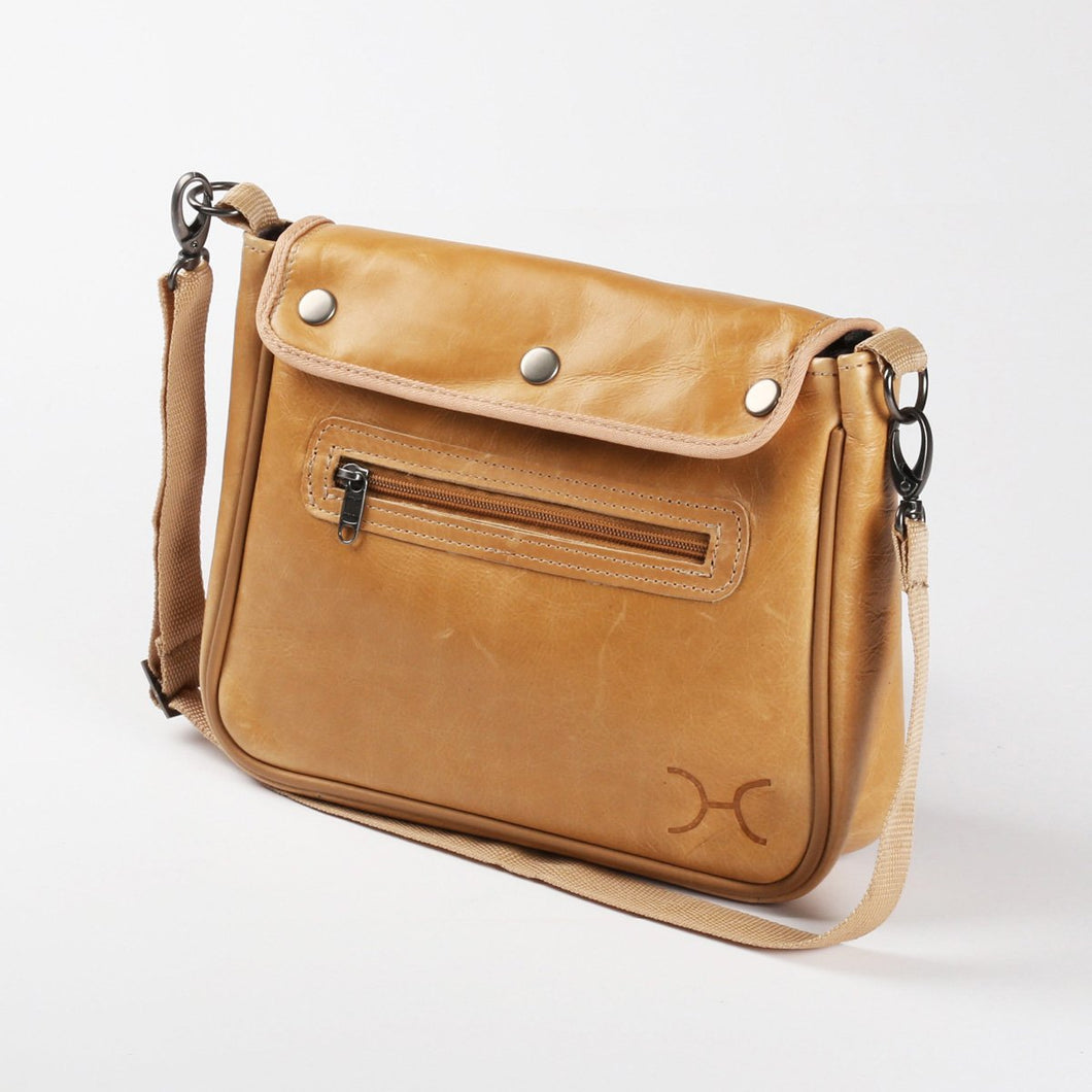 Mini Nappy Bag Leather