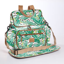 Load image into Gallery viewer, Baby Nappy Backpack Laminated Fabric