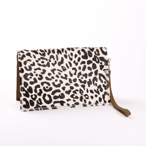 Patsy Belt Pouch Animal Print Leather