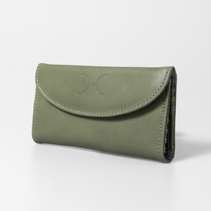 Ladies Wallet Leather with PigSkin suede leather Lining