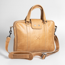 "Load image into Gallery viewer, 15"" Laptop Bag Leather"