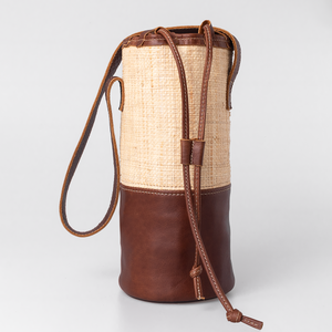 Banana Leaf Beverage Cooler Leather