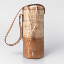 Load image into Gallery viewer, Banana Leaf Beverage Cooler Leather