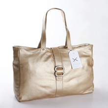 Load image into Gallery viewer, Ellie Handbag Metallic Leather