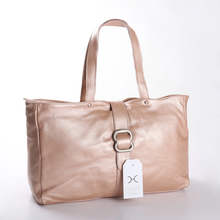 Ellie Handbag Metallic Leather
