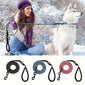 Nylon Reflective Dog Leash Pet Training Leashes Safety 6ft Long