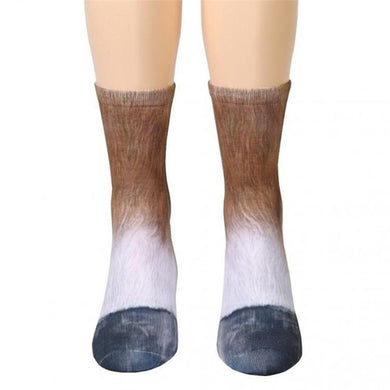 Animal Socks - Unisex (Print & Elastic)
