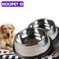 Hoopet Pet Dog Food Bowl Stainless Steel Big Volume Anti-skid