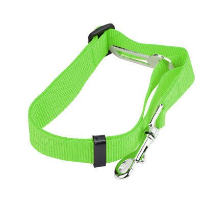 ISHOWTIENDA  Safety Care Pets Vehicle Car Seatbelt Harness Lead Clip