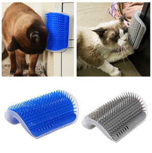Self-Grooming Wall Brush
