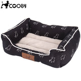 Animal Pattern Dog Bed