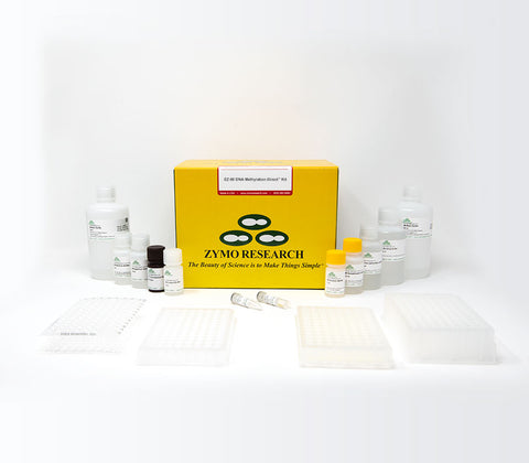 A complete and reliable bisulfite conversion kit that eliminates cumbersome DNA precipitation steps and allows DNA bisulfite conversion directly from blood, tissue, and cells without prior DNA purification.