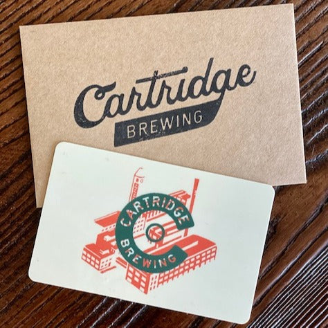 Cartridge Brewing Gift Cards